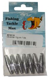 Fishing tackle max schuif lood