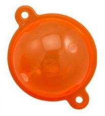 Buldo bubble float oranje 2 stuks