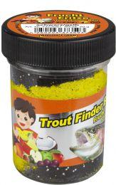 TFT Trout finder bait DRIJVEND Fruitsmaak Zwart/ Geel