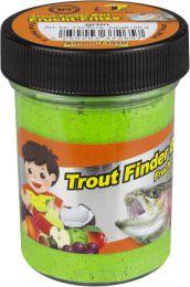 TFT Trout finder bait DRIJVEND Fruitsmaak Groen