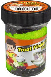 TFT Trout finder bait DRIJVEND Fruitsmaak Zwart/ Groen