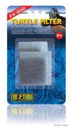 Exo Terra Filter Dual Carbon Pads voor FX-200