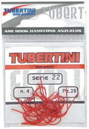 Tubertini serie 22 rode wasmot haak