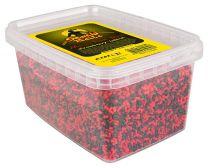 Senshi baits Micro pellet shot Strawberry Halibut