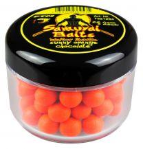 Samurai baits sunny orange chocolate mini boilies