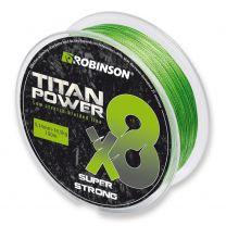 Robinson Titan Power X8 gevlochten lijn 0,10 mm