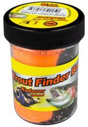 TFT Trout finder Bait Kadaver ZINKEND Zwart/ Oranje