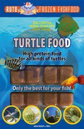 Turtle Food Blister 100 Gram 20 Cube
