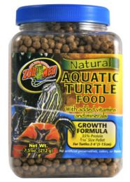 Zoo Med Natural Aquatic Turtle Food Growth Formula 1,53 Kilo
