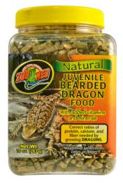Zoo Med Natural Juvenile Bearded Dragon Food 283 Gram
