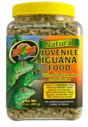 Zoo Med Natural Juvenile Iguana Food 283 Gram