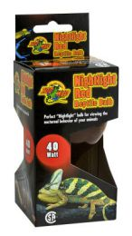 Zoo Med Nightlight Red Reptile Bulb 60 Watt