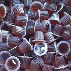 Fruitkuip bruine suiker