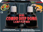 Zoo Med Mini Combo Deep Dome Lamp Fixture